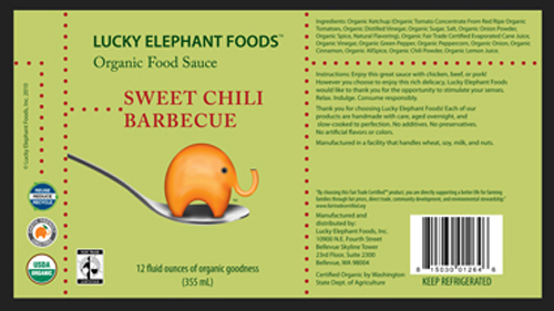 LEF Sauce Label