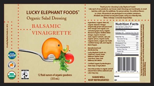 LEF Salad Label